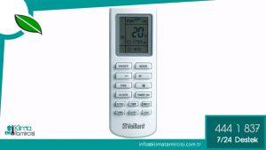 Vaillant VAI 6 Inverter Klima Kumandası Nasıl Kullanılır?
