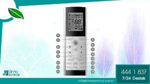 Viessmann VITOCLİMA 200-S/HE Klima Kumandası Nasıl Kullanılır?